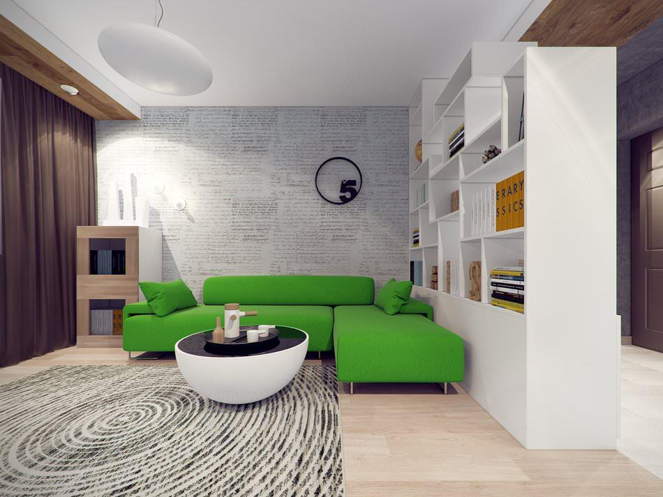 Дизайн двухкомнатных квартир 57 кв.м