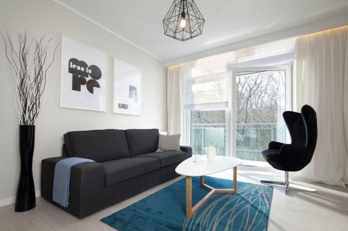 Дизайн современных гостиных в стиле минимализм