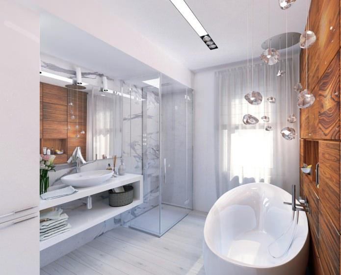 Красивый интерьер ванной