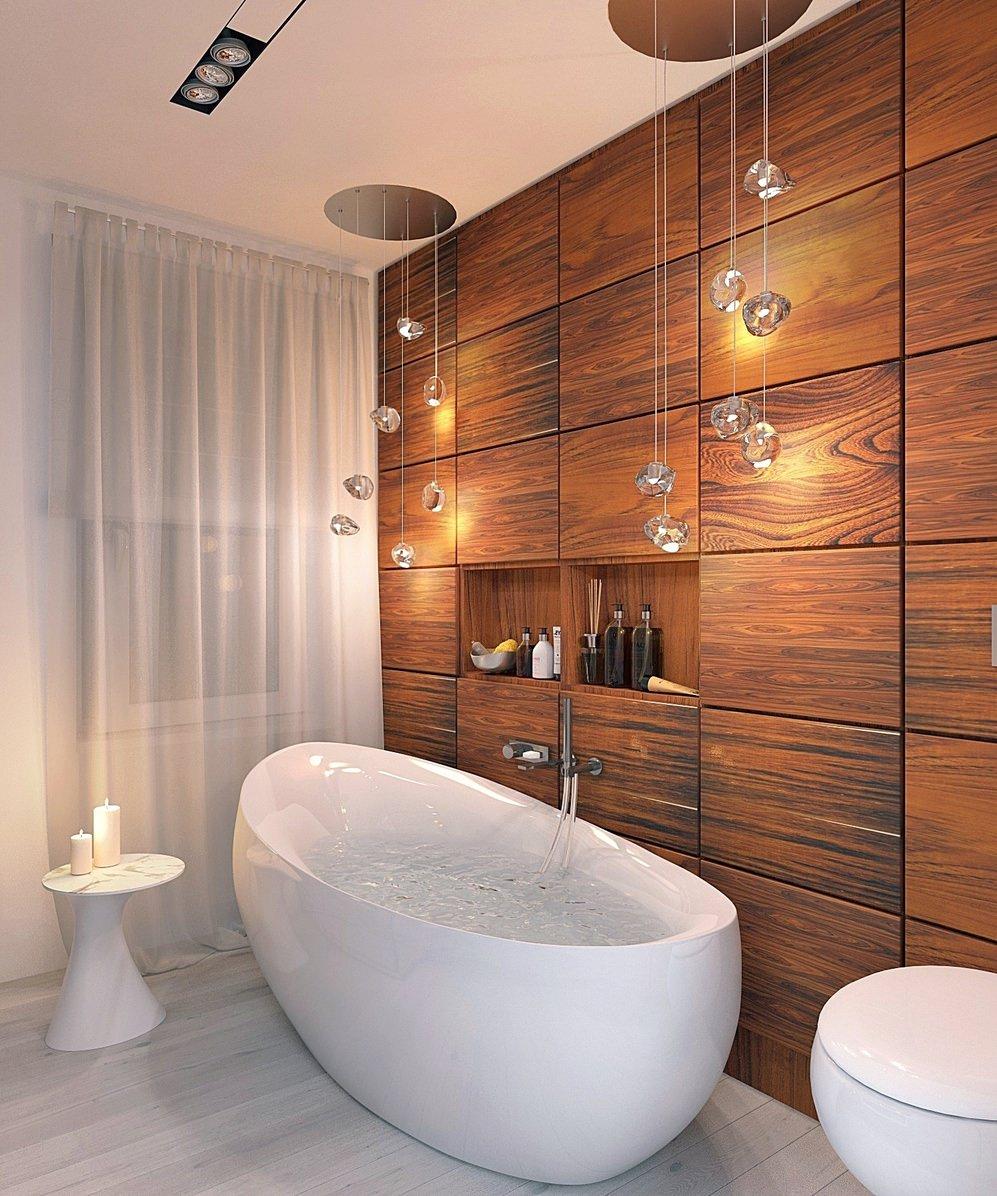 Интерьеры красивых ванных комнат 72