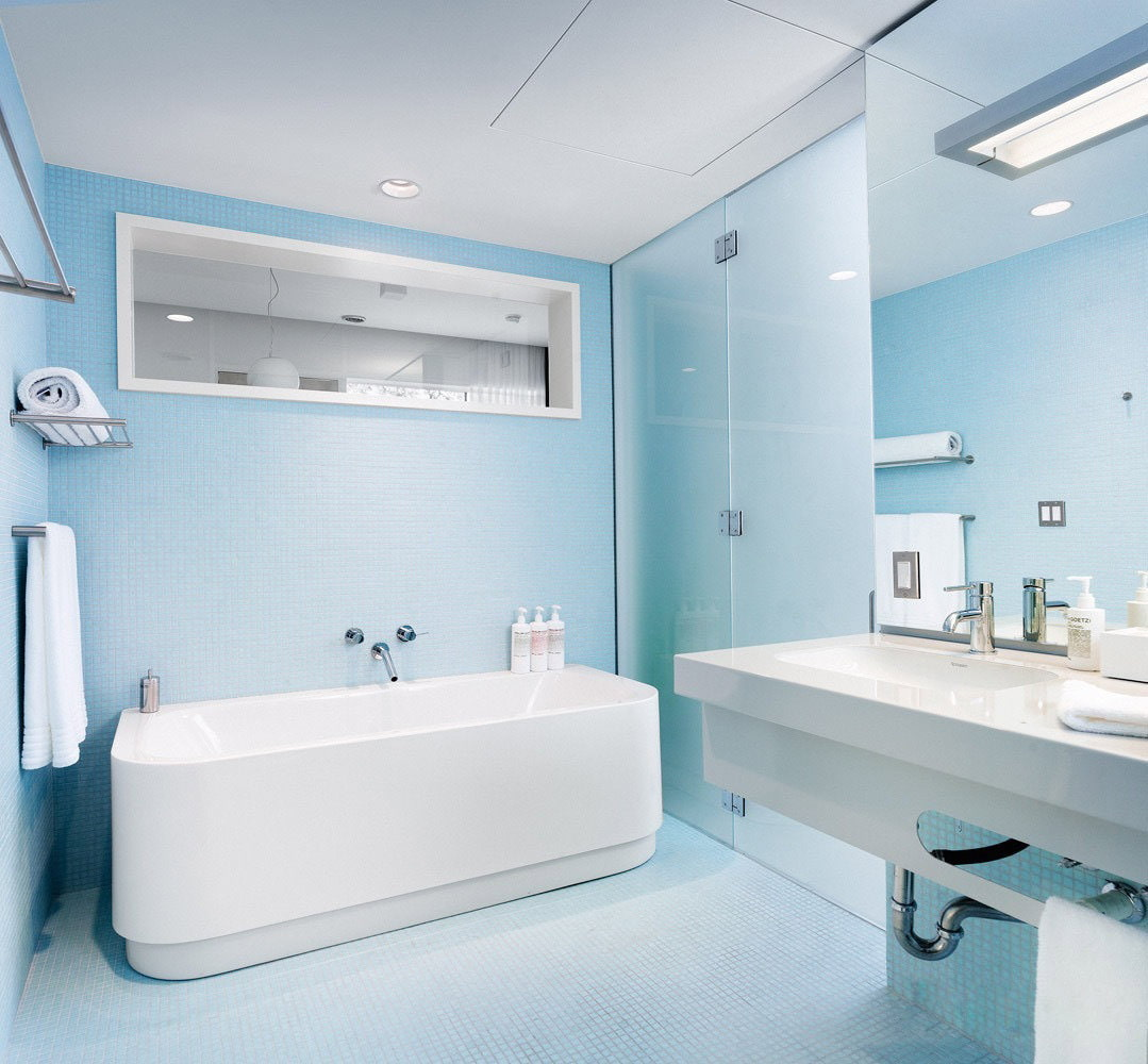 for Blue bathroom designs pictures