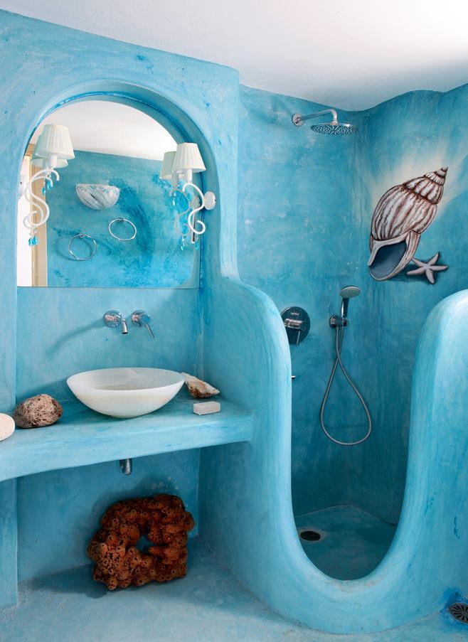Интересные дизайн ванной комнаты