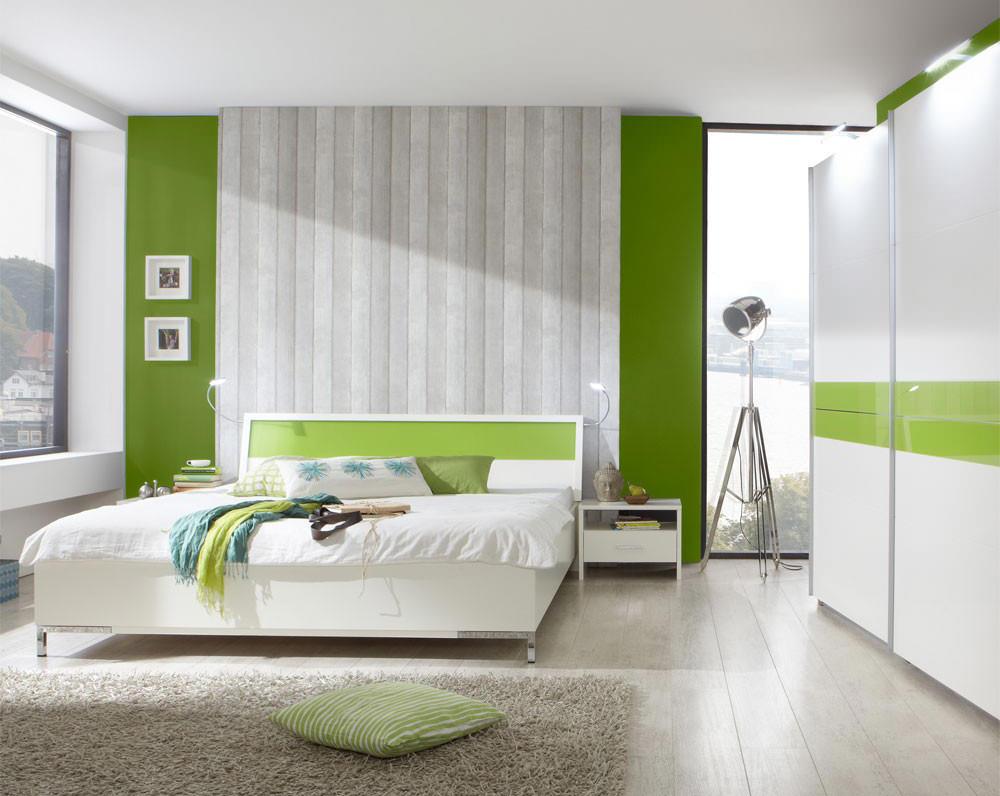 Дизайн комнаты в салатовом цвете