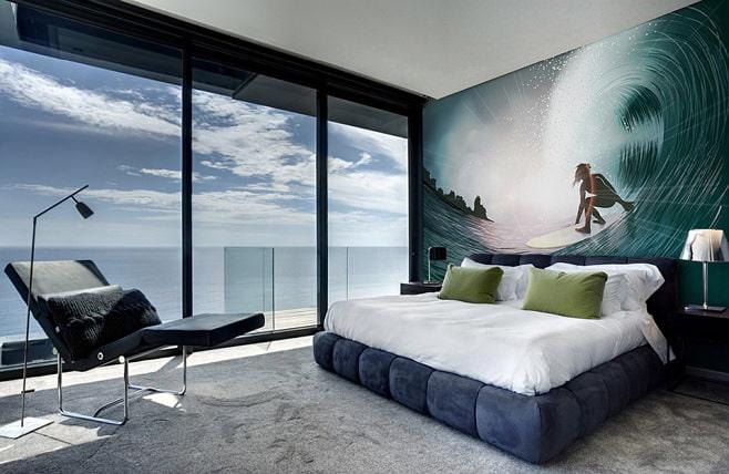 Фото дизайн комнат с фотообоями