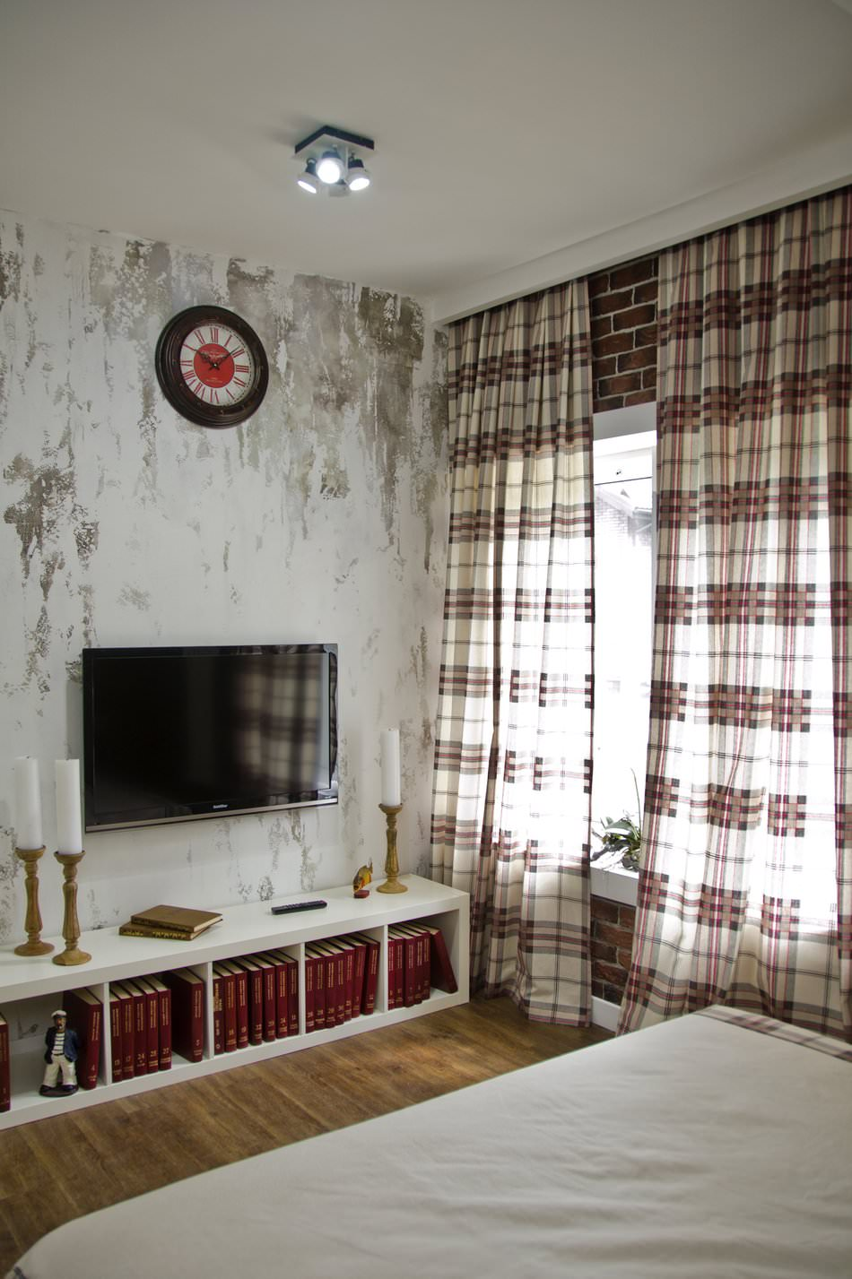 Дизайн комнаты в стиле лофт фото