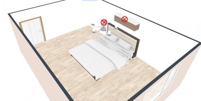 как нельзя ставить кровать