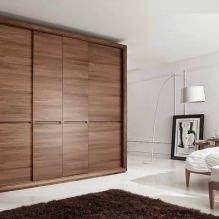 Варианты дизайна фасадов дверей шкафа-купе-5