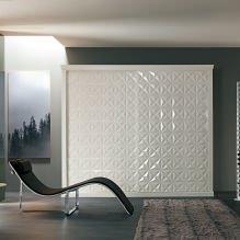 Варианты дизайна фасадов дверей шкафа-купе-6