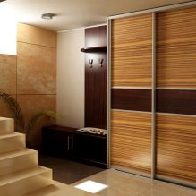 Варианты дизайна фасадов дверей шкафа-купе-3