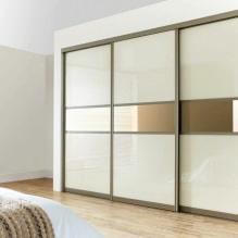 Варианты дизайна фасадов дверей шкафа-купе-9