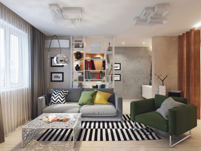 Дизайн квартиры 58 кв. м. от Александра Феськова