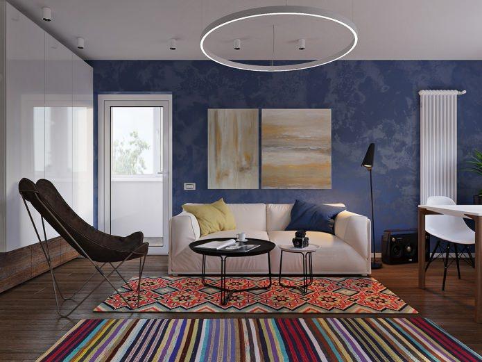 Дизайн квартиры 31 кв. м. в панельном доме