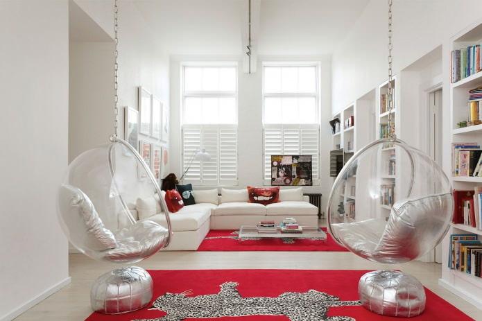 Качели в квартире: виды, выбор места установки, лучшие фото и идеи для интерьера
