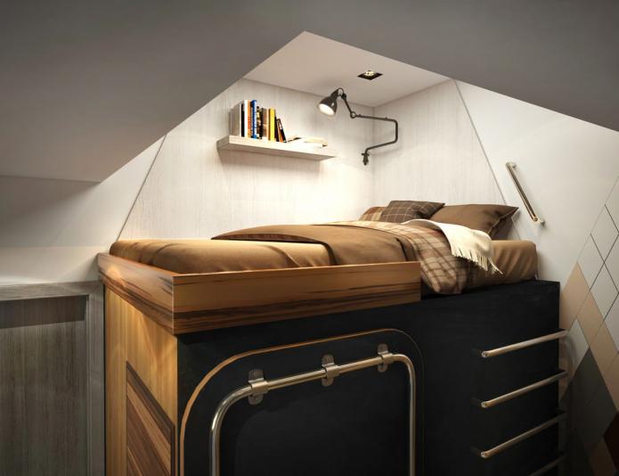 Дизайн квартиры-студии 15 кв. м со всем необходимым для жизни