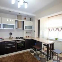 Дизайн кухни с барной стойкой: 60 современных фото в интерьере - 42