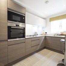 Дизайн кухни с барной стойкой: 60 современных фото в интерьере - 57
