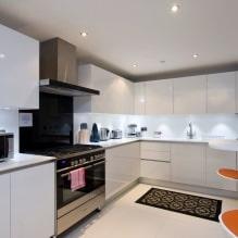 Дизайн кухни с барной стойкой: 60 современных фото в интерьере - 60