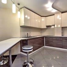 Дизайн кухни с барной стойкой: 60 современных фото в интерьере - 44