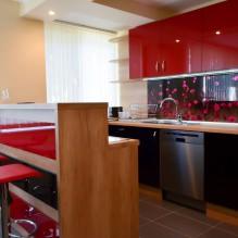 Дизайн кухни с барной стойкой: 60 современных фото в интерьере - 58