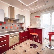 Дизайн кухни с барной стойкой: 60 современных фото в интерьере - 56