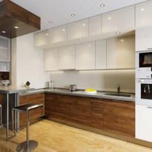 Дизайн кухни с барной стойкой: 60 современных фото в интерьере - 49