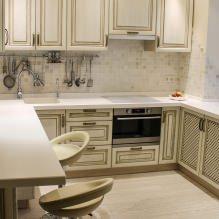 Дизайн кухни с барной стойкой: 60 современных фото в интерьере - 52