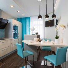 Дизайн кухни с барной стойкой: 60 современных фото в интерьере - 55