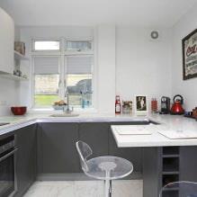 Дизайн кухни с барной стойкой: 60 современных фото в интерьере - 51