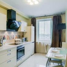 Дизайн кухни с зелеными обоями: 55 современных фото в интерьере - 49