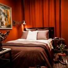 Красный цвет в интерьере: значение, сочетание, стили, отделка, мебель (80 фото)-12