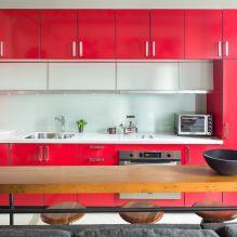 Красный цвет в интерьере: значение, сочетание, стили, отделка, мебель (80 фото)-8