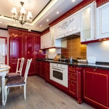 Красный цвет в интерьере: значение, сочетание, стили, отделка, мебель (80 фото)-7
