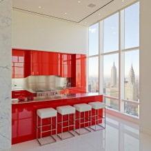Красный цвет в интерьере: значение, сочетание, стили, отделка, мебель (80 фото)-1