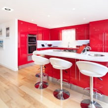 Красный цвет в интерьере: значение, сочетание, стили, отделка, мебель (80 фото)-2