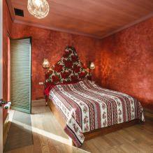 Красный цвет в интерьере: значение, сочетание, стили, отделка, мебель (80 фото)-10