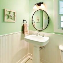 Интерьер туалета маленького размера: особенности, дизайн, цвет, стиль, 100+ фото-11