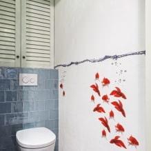 Интерьер туалета маленького размера: особенности, дизайн, цвет, стиль, 100+ фото-2