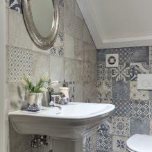 Интерьер туалета маленького размера: особенности, дизайн, цвет, стиль, 100+ фото-3