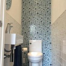 Интерьер туалета маленького размера: особенности, дизайн, цвет, стиль, 100+ фото-20