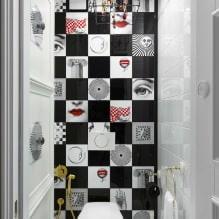 Интерьер туалета маленького размера: особенности, дизайн, цвет, стиль, 100+ фото-6