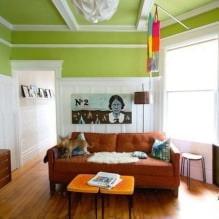 Интерьер в салатовом цвете: 65 потрясающих фото и идей оформления