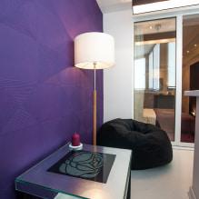 Обои на балконе или лоджии: какие можно клеить, выбор цвета, идеи дизайна, фото в интерьере-0