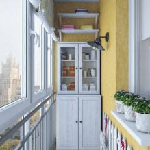Обои на балконе или лоджии: какие можно клеить, выбор цвета, идеи дизайна, фото в интерьере-6