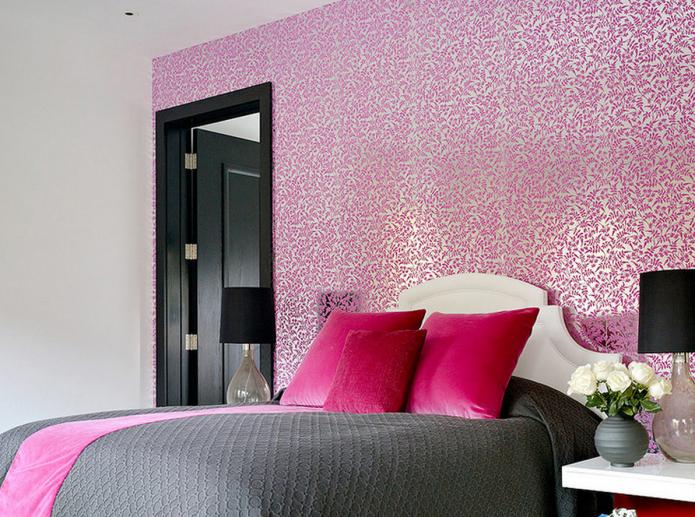 Обои с шелкографией для стен: 50 лучших фото и вариантов дизайна