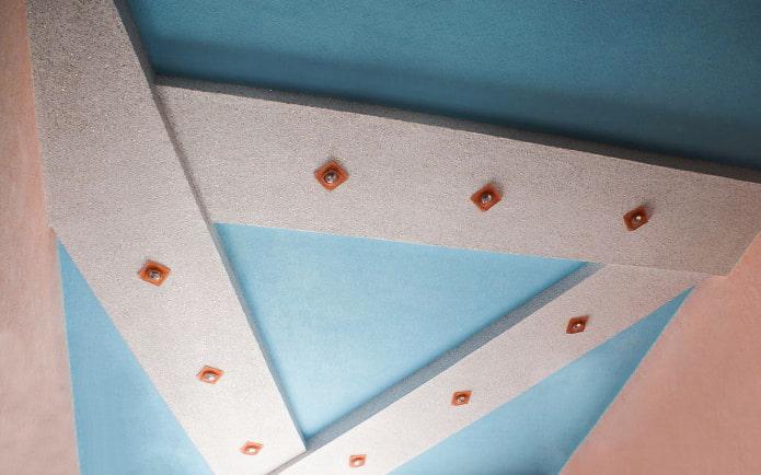 Жидкие обои на потолок: фото в интерьере, современные примеры дизайна