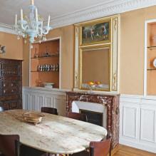 Обои оранжевого цвета: виды, дизайн и рисунки, оттенки, сочетания, фото в интерьере-1