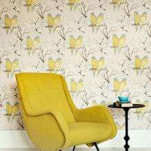 Оформление стен обоями с птицами: 60 современных фото и идей-2
