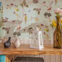 Оформление стен обоями с птицами: 60 современных фото и идей-11