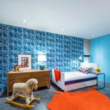 Обои в детскую комнату для девочек: 68 современных идей, фото в интерьере-0