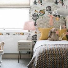 Обои в детскую комнату для девочек: 68 современных идей, фото в интерьере-1